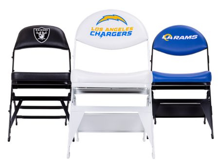 Portable Folding Chairs Provided for New Historic MLB & NFL Stadiums