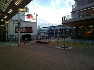 徳山駅北口駅前広場整備