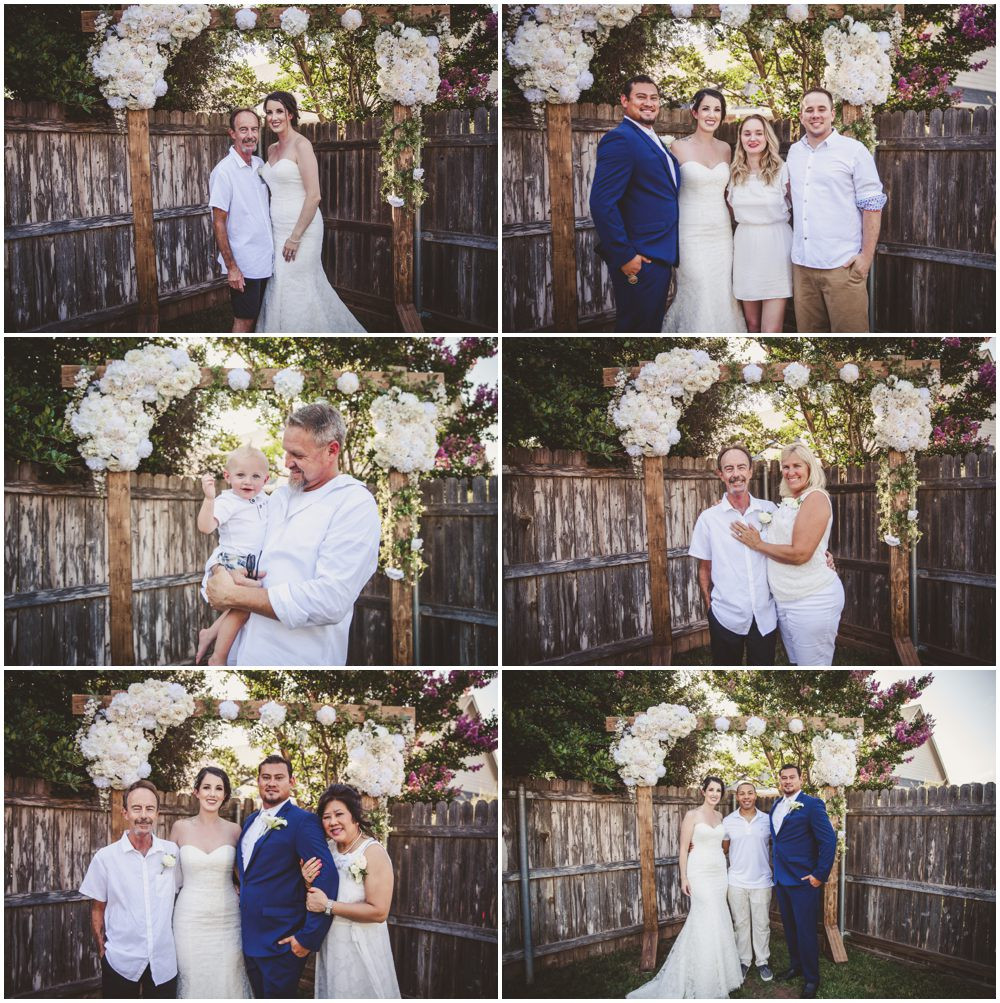 bride family picts