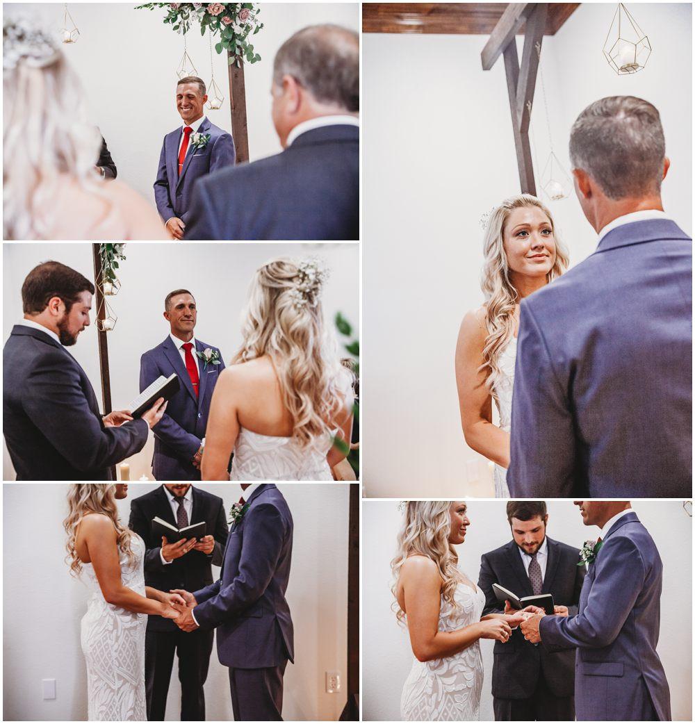 elopement ceremony hands