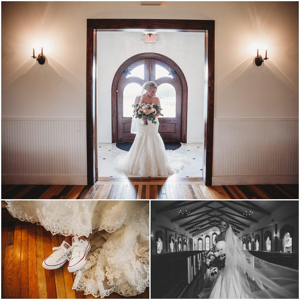 Bridal portrait details