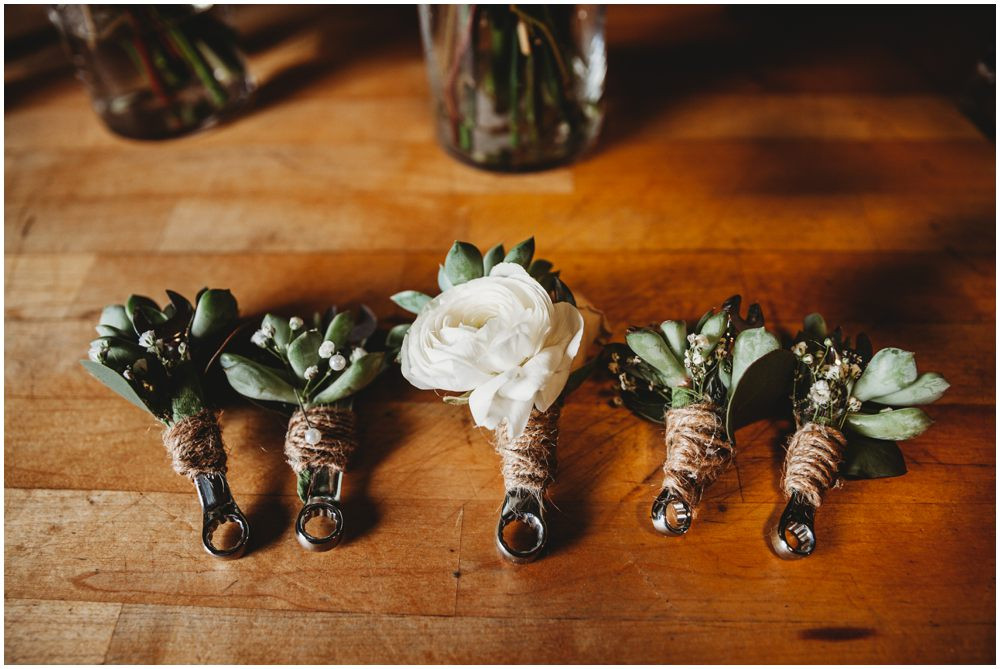 Wrench Boutonnieres
