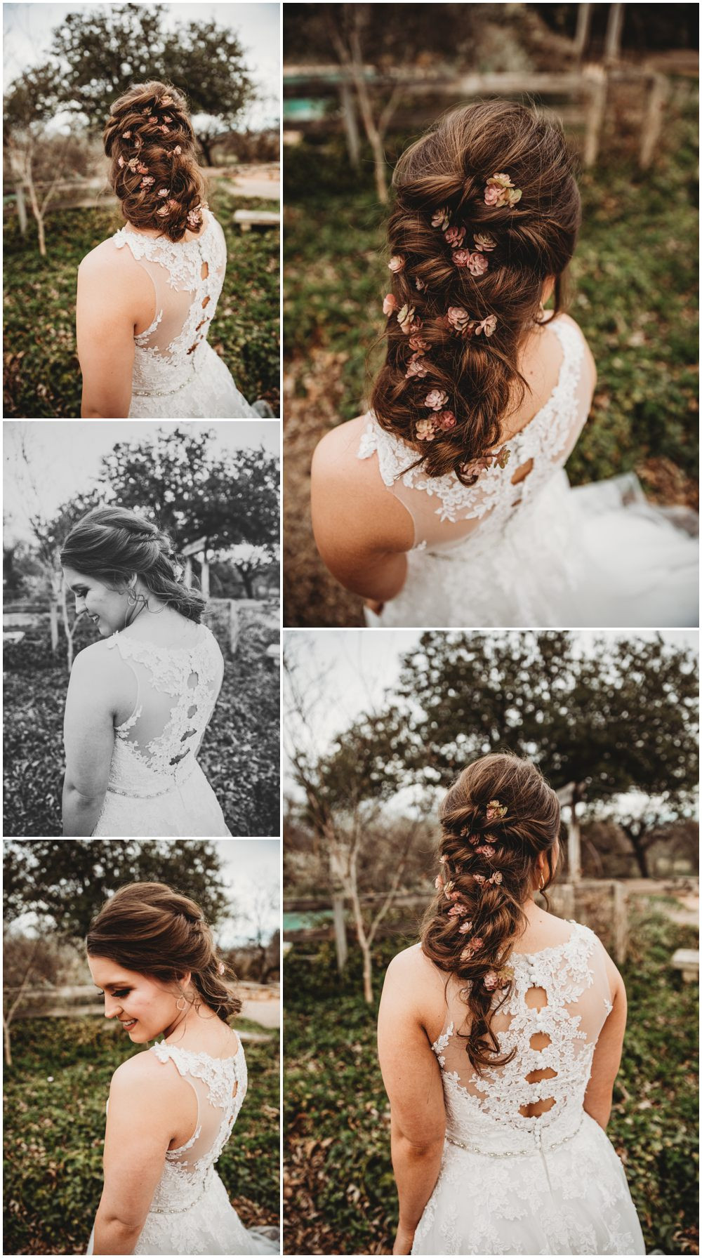 Rustic Wedding Hair
