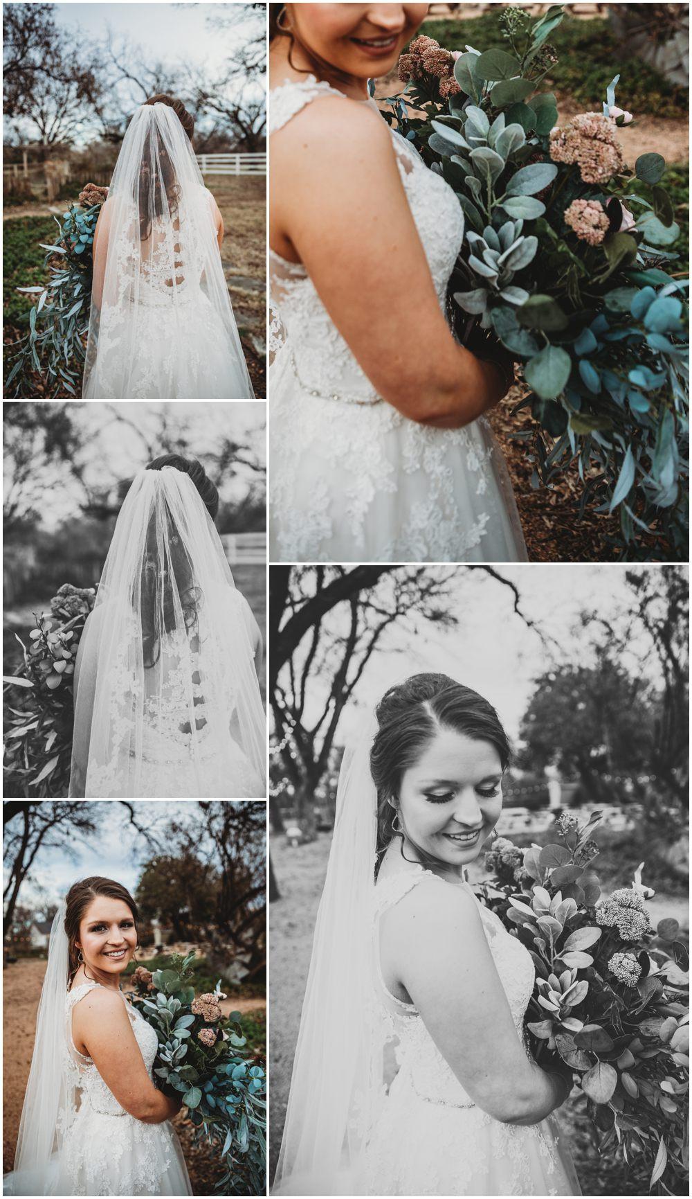 modern rustic bride
