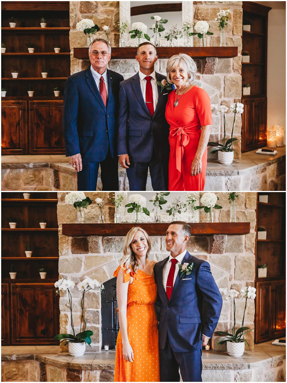 elopement groom family