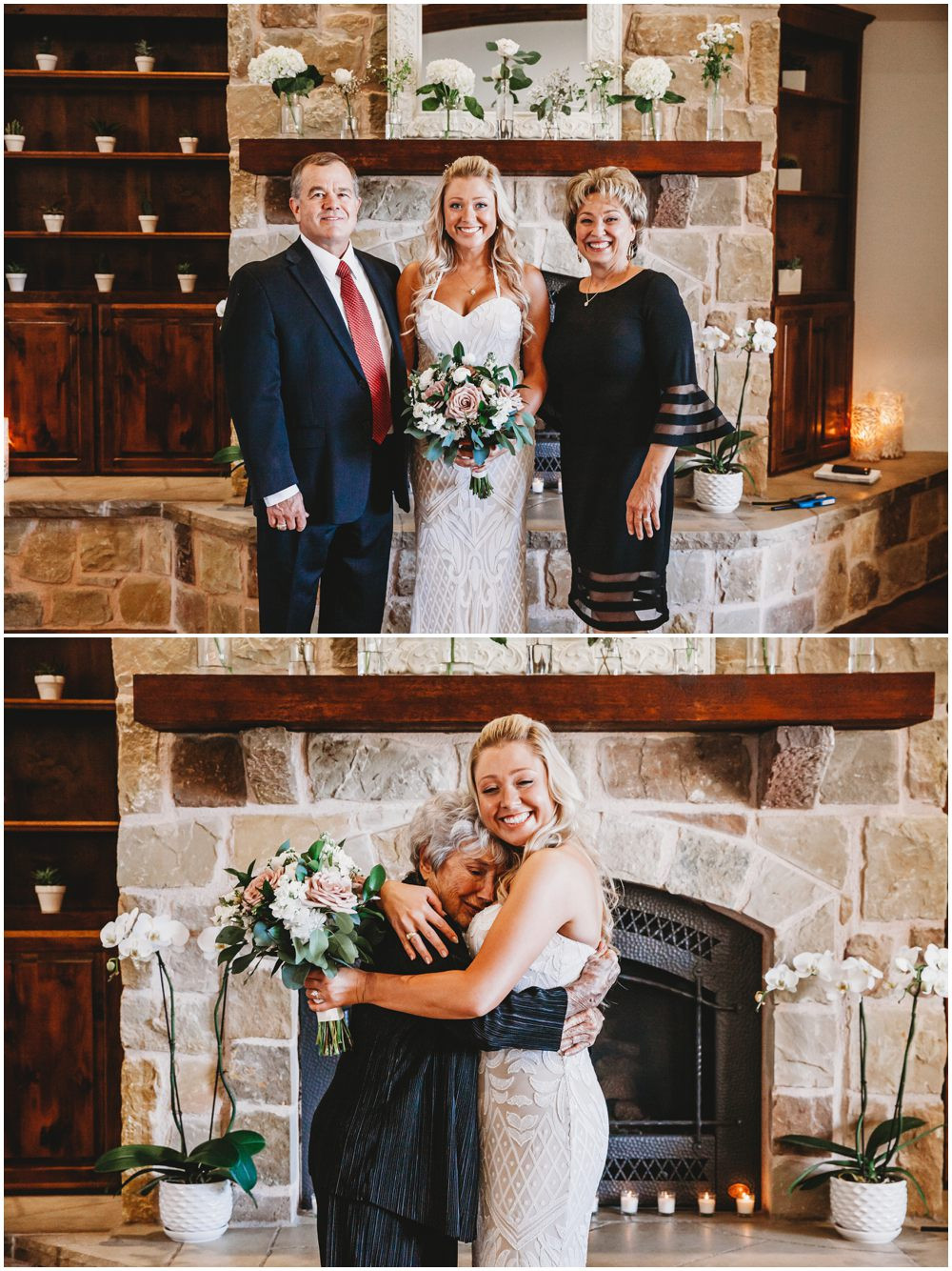 elopement bride family