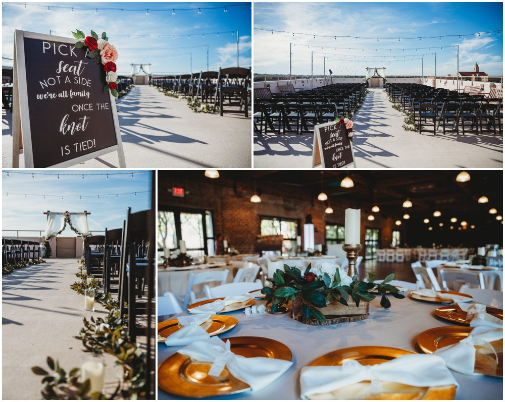 Rooftop wedding abilene