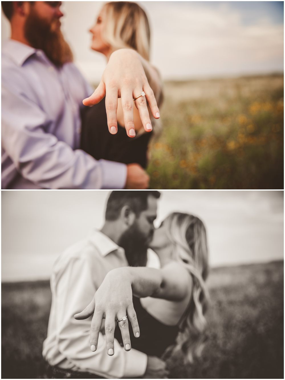 engagment ring shot