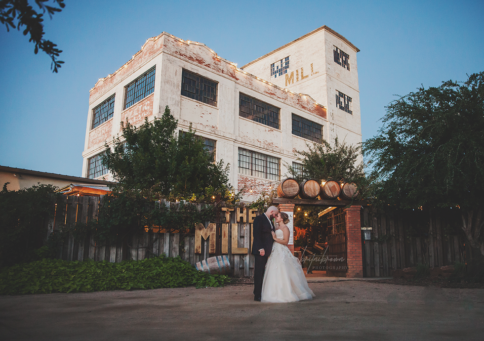 Kirsten+Matt | Britni Brown Photography| The Mill Winery | Abilene,Tx Wedding Photographer