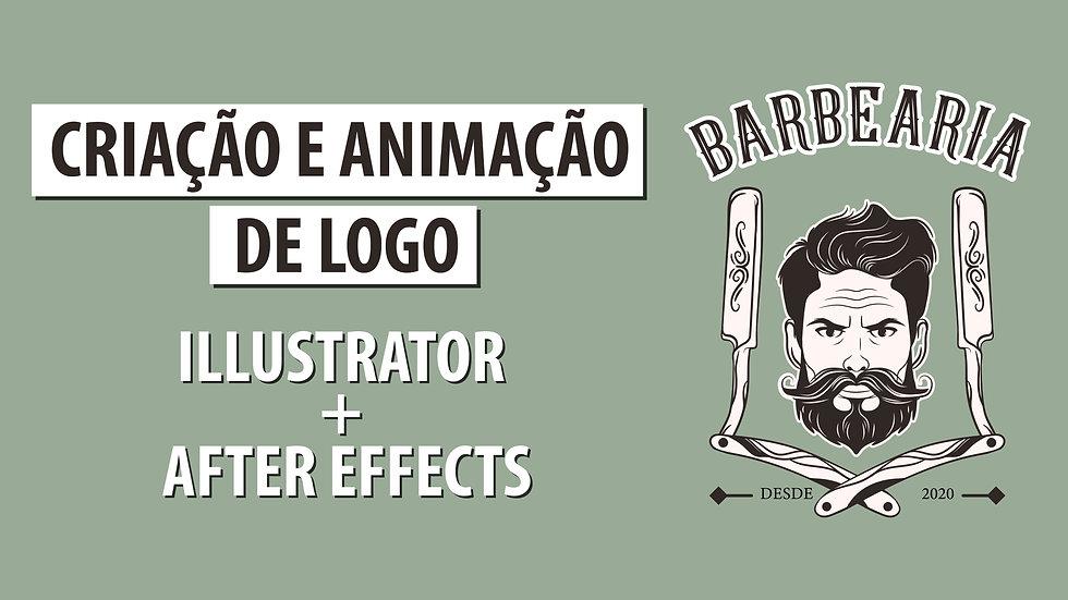 Logo Reveal - Barbearia