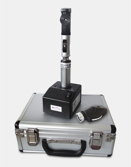 Retinoscópio + Oftalmoscópio