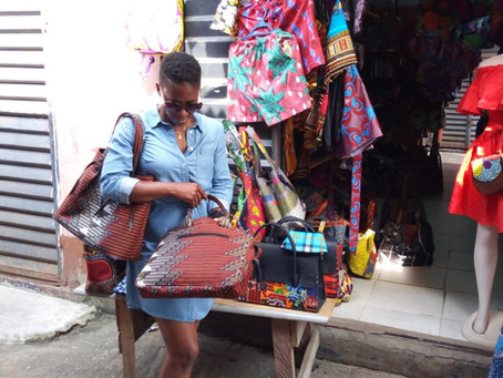 A Day in The Lekki Arts & Craft Market