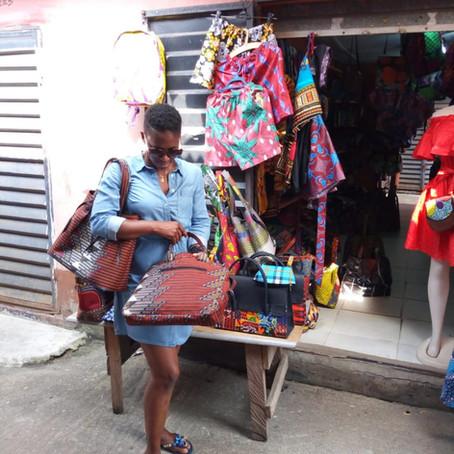 A Day in The Lekki Arts & Craft Market