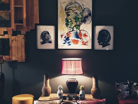 Design. Decorate. Decor: A look into the home of an Art Enthusiast