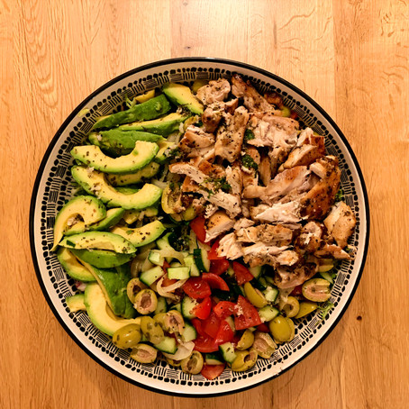 For Foodies: Grilled Chicken Salad Recipe