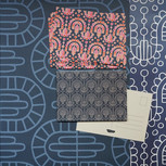 Eveningparty wrapping paper, wallpaper and cards