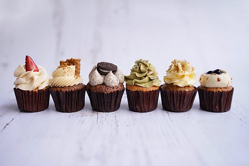 Cupcake assortment (Mini 24pc)