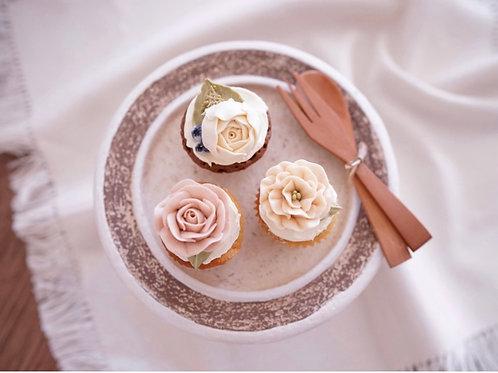 Mini floral cupcakes (24pc)