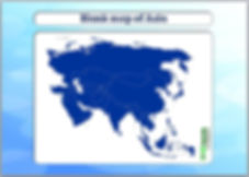 outline map of asia   blank map of asia