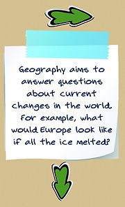 What is geography about? | define geography