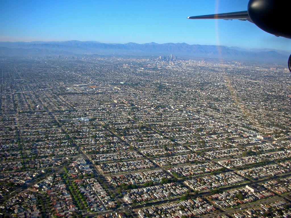 LA's sprawling suburbs