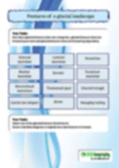 glacier worksheet