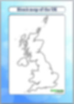 blank map of the UK | outline map of the UK | UK blank map | UK outline map | ks2 geography