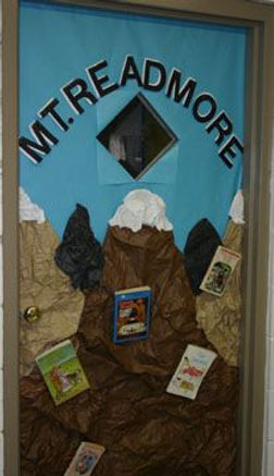 mountain door display