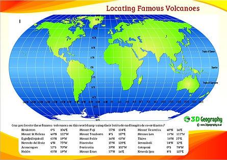locating famous volcanoes