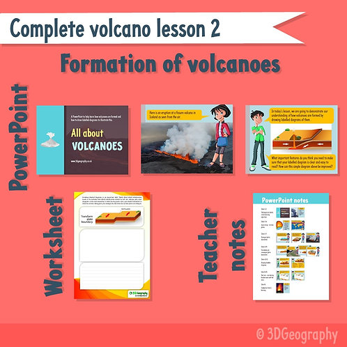 Volcano complete lesson 2 - How are volcanoes formed