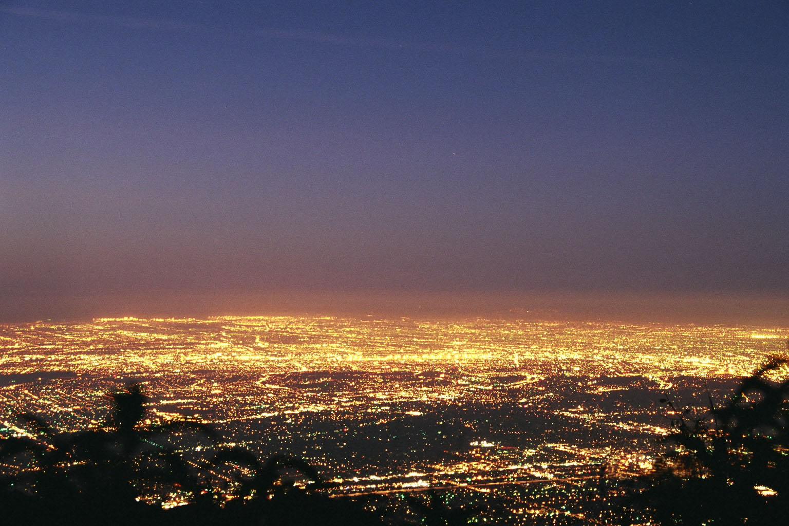 LA at dawn