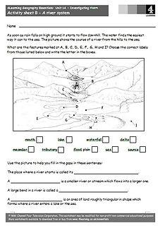river worksheets ks2