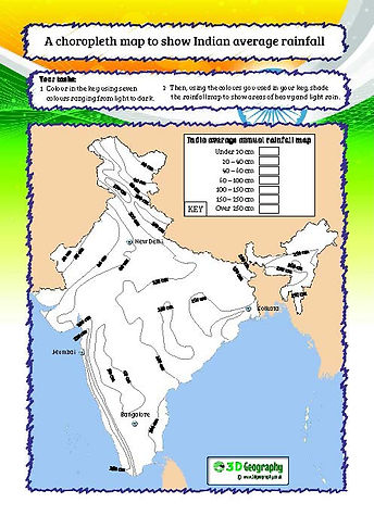 india worksheets for middle school