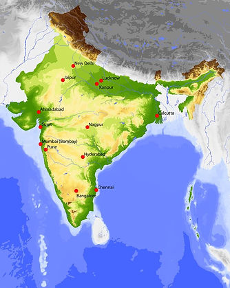 Geography map of india | geography of india | indian Geography