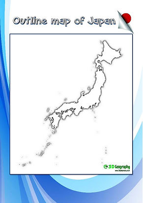 blank map of japan | outline map of japan | japan blank map