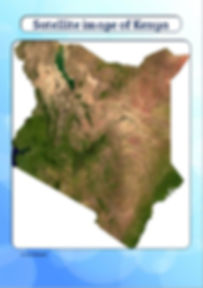 kenya map for kids | kenya map