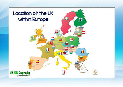 Where is UK in europe?