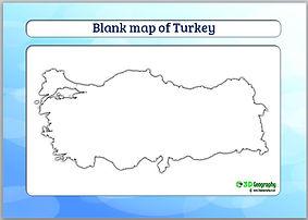 turkey outline map | blank map of turkey | turkey blank map | teaching geography