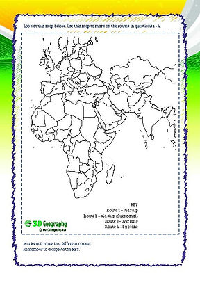teaching resources for india geography
