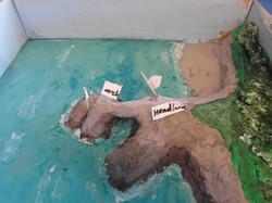 coastal features model