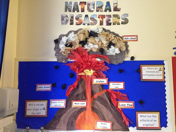 volcano class display ideas
