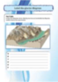 glacier worksheets for kids