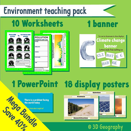 Environment teaching resources