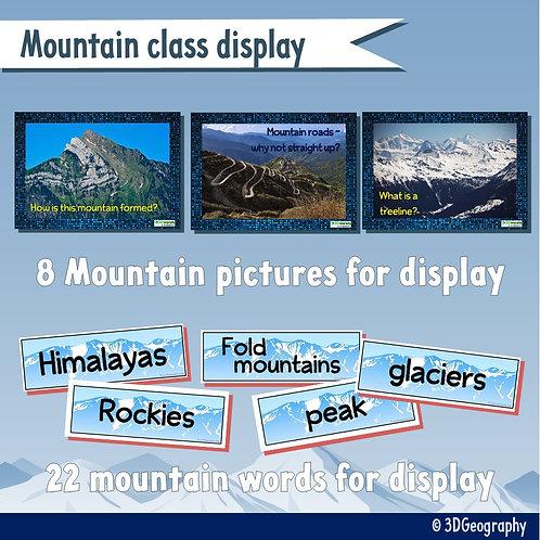 Mountain class display