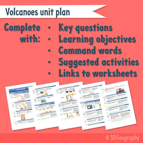 Volcanoes Unit Plan