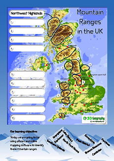 locating mountain ranges