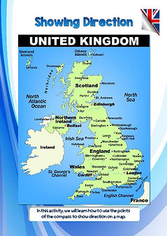 Where is UK in europe?   map reading