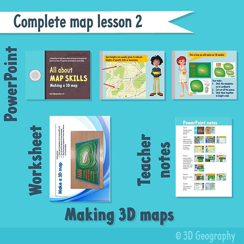 Map skills complete lesson 2