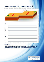 earthquake worksheets ks3