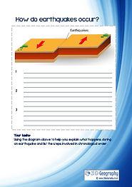 earthquake worksheets ks3